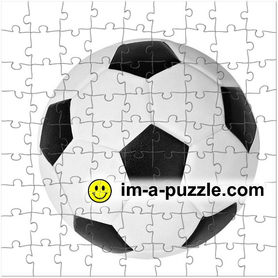 A puzzle of a ball