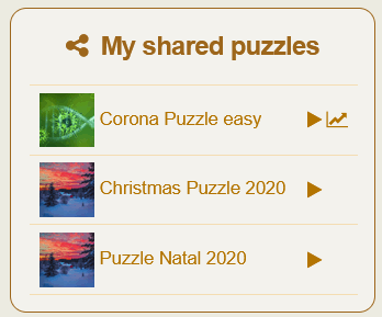 My Shared puzzles box